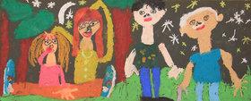 درخشش اعضای کانون هرمزگان در هفتمین دو سالانه هنرهای تجسمی کانون کشور
