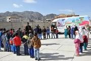 روحیهبخشی به کودکان با «قاصدک» سیار نمایش