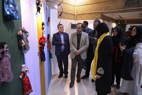 گشایش نمایشگاه آثار برتر هفتمین دوسالانه ملی هنرهای تجسمی آفرینش کانون