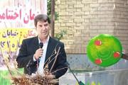 خداحافظی مشاور ادبی مدیر عامل کانون،با همکاران کانون استان ایلام