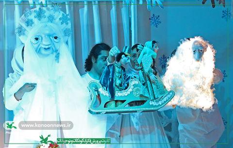نمایش عروسکی «هدیه اسرارآمیز» به کارگردانی میثم یوسفی