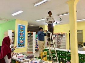آماده سازی مراکز فرهنگی هنری کانون هرمزگان برای جشن دهه فجر