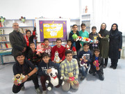 عروسک های قشنگ کودکان به مراکزکانون لرستان رفتند