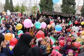 گزارش تصویری جشن انقلاب از برنامههای کارگروه کودک و نوجوان استان فارس