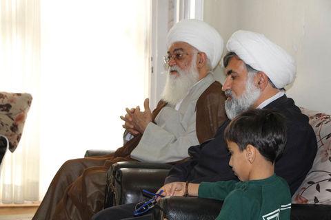دیدار با خانواده شهید مدافع حرم لطفی نیاسر