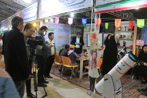 حضور کانون فارس در نمایشگاه دستاوردهای انقلاب