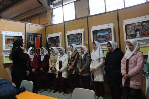 افتتاح نمایشگاه چهلمین سال پیروزی انقلاب