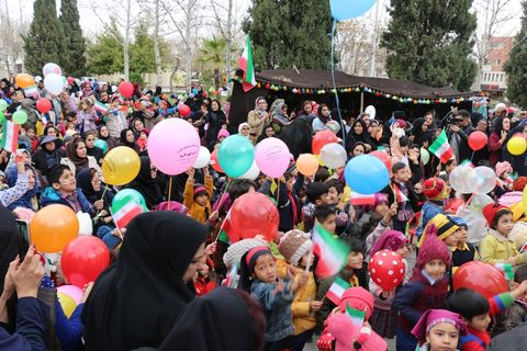 جشن انقلاب،ویژه برنامه کارگروه کودک و نوجوانان استان فارس