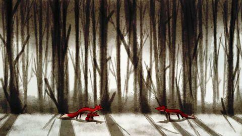 انیمیشن «روباه» ساخته صادق جوادی