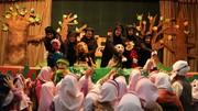 استقبال کودکان شیرازی از نمایش «شازده وپهلوان»