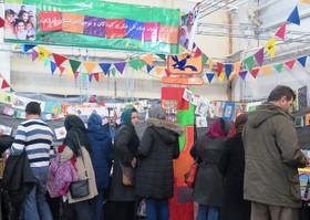 رونق غرفه کانون در سیزدهمین نمایشگاه کتاب استان قزوین(گزارش تصویری)