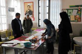 بازدید مدیرکل از مراکز فرهنگی هنری شماره ۴ و  کانون ۵ اردبیل
