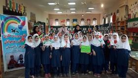 فعالیتهای فرهنگیهنری کانون رامیان به مناسبت چله انقلاب