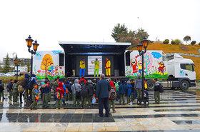 برنامههای تماشاخانه سیار کانون در باغ موزه دفاع مقدس تهران