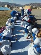 بچه های ایلامی  روزهای خوب پیروزی را به تصویر کشیدند