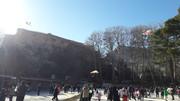 لحظات شاد بچه های خرم آبادی درکنارقلعه تاریخی فلک الافلاک