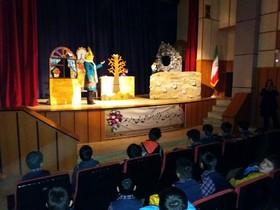 اجرای نمایش عروسکی«گل اومد، بهار اومد» در مرکز مجتمع کانون کرج