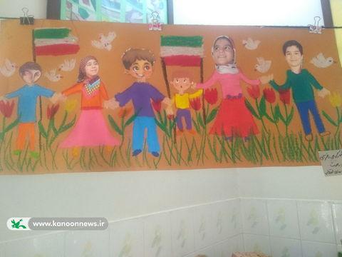 فعالیت دهه فجر مرکز شماره 8 کانون تهران ـ چهلمین سالگرد پیروزی انقلاب اسلامی
