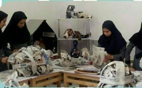 کارگاه عروسکسازی و کاریکاتور در شهرستان خاتم برگزار شد