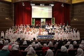 آوازخوانی کودکان و نوجوانان گلستانی در اولین مهرواره سرود کانون
