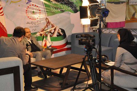 گزارش تصویری غرفه کانون در نمایشگاه دستاوردهای انقلاب (2)