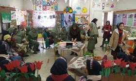 گزارش تصویری همراهی با چهلمین بهار انقلاب در مراکز فرهنگی و هنری کانون استان قزوین