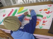 مهرواره نقاشی «رنگینههای افتخار» در کانون بشرویه