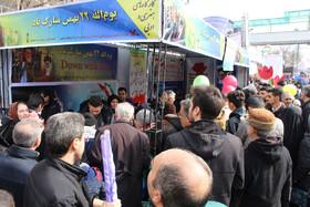 کارگاههای فرهنگی، هنری و ادبی کانون آذربایجان شرقی در راهپیمایی پرشکوه ۲۲ بهمن ماه