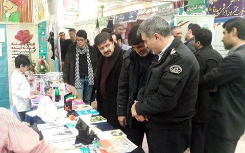 کانون پرورش فکری استان اردبیل در نمایشگاه چهل سال دستاوردهای انقلاب اسلامی