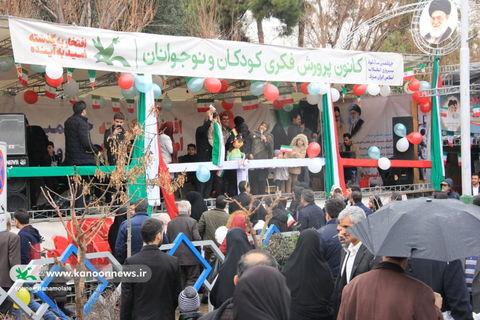 نگاهی به پایگاه کانون استان تهران در راهپیمایی ۲۲ بهمن ۱۳۹۷