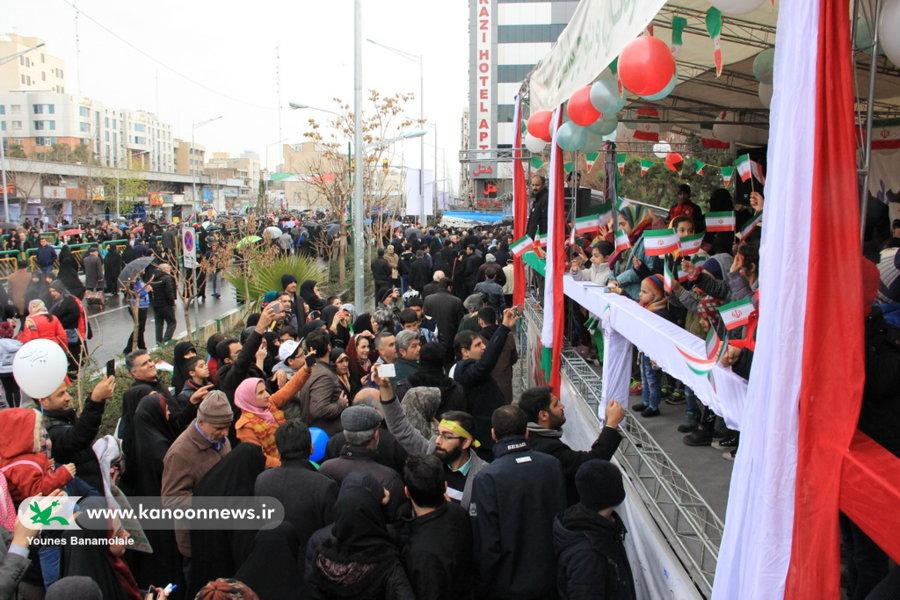 جشن چهلسالگی انقلاب اسلامی در جایگاه کانون تهران برگزار شد