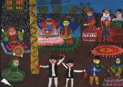 درخشش کودکان ایرانی در مسابقه نقاشی «بنسکا» کشور بلغارستان