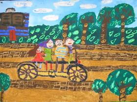 کودکان همدانی در مسابقه نقاشی «بنسکا» کشور بلغارستان خوش درخشیدند