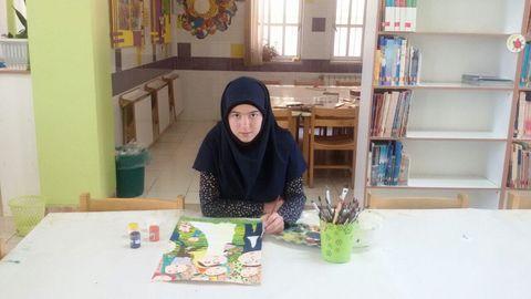 دختر 12 ساله اصفهانی موفق به کسب دیپلم افتخار شد