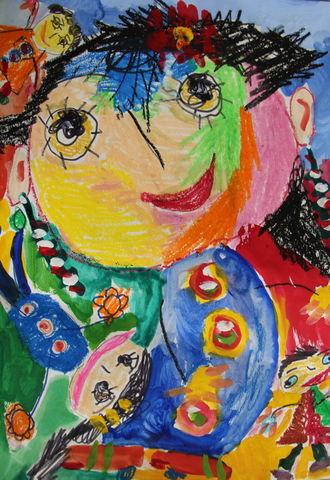 درخشش نقاشی کودک استان فارس در بلغارستان