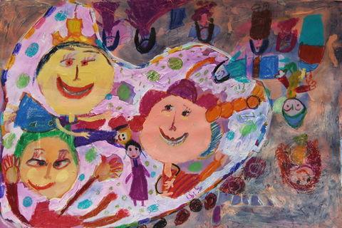 «فاطمه عبیری» 6 ساله از مرکز علوم کانون تهران