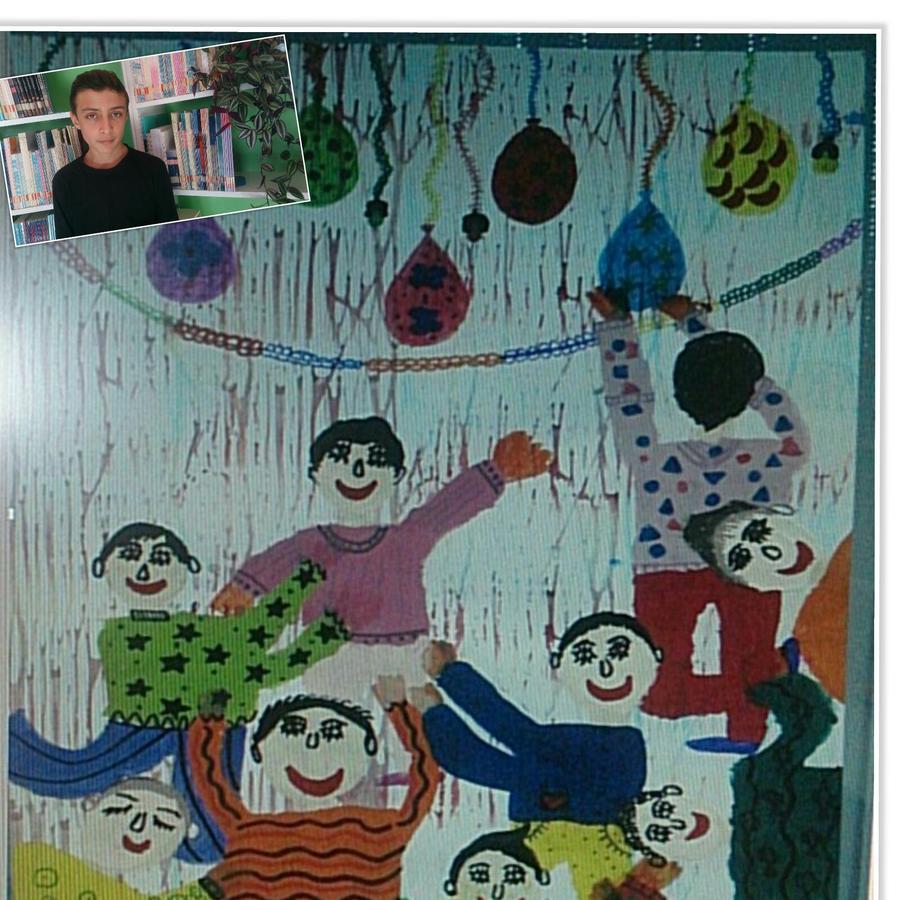 درخشش عضو کانون زنجان درمسابقه بین المللی نقاشی بنسکا کشور بلغارستان