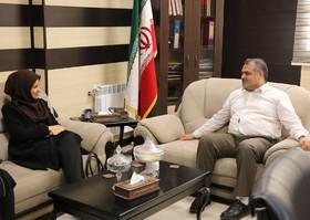 دیدار مدیرکل کانون پرورش فکری با مدیرکل اتباع و مهاجرین خارجی استانداری گلستان