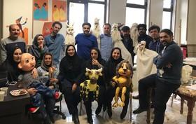 دوره آموزشی عروسک سازی در کانون کرمانشاه برگزار شد