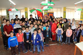 ویژه برنامه چهل گام تا پیروزی در مرکز شماره ۲۰ کانون تهران