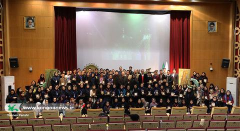 حضور اعضای انجمن ادبی آفتاب و مهتاب در نخستین مهرواره شعر آفرینش تهران
