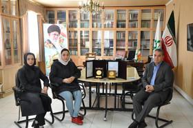عضو کانون استان اردبیل برگزیده مهرواره ادبی آفرینش شد