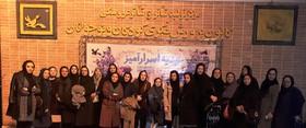 استقبال از هفته گرامیداشت مقام زن در کانون استان قزوین