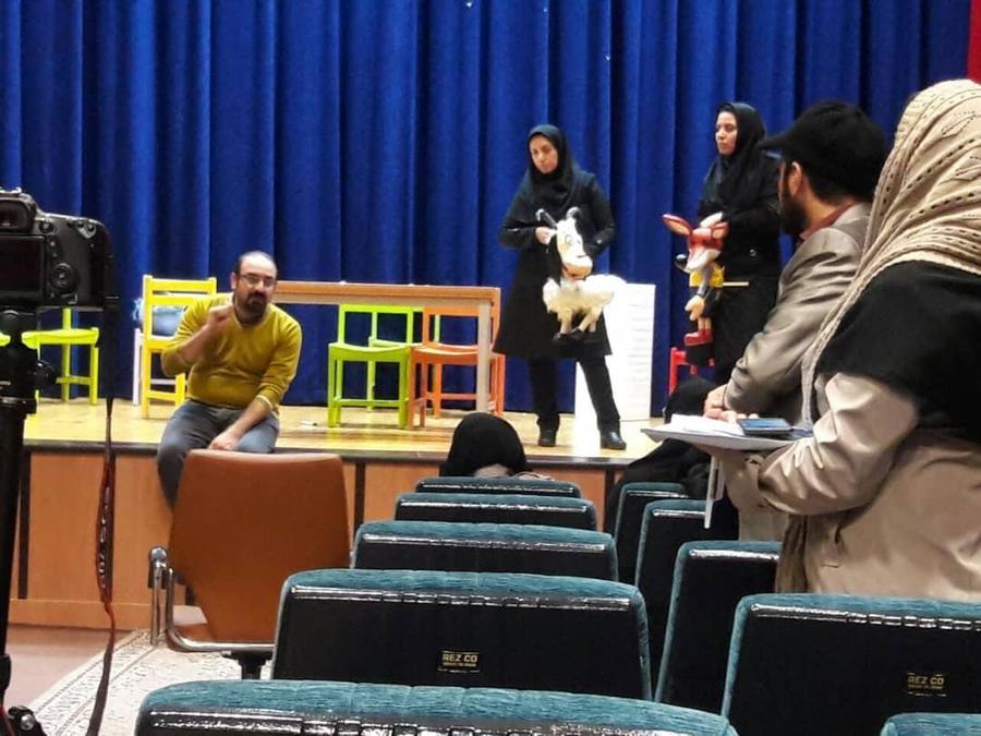 ادامه برگزاری دورههای آموزش هنرهای نمایشی به مربیان کانون در استانهای کشور