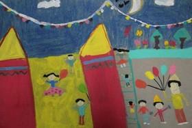 کسب دیپلم افتخار کودک هفت ساله اراکی در مسابقه نقاشی بینالمللی