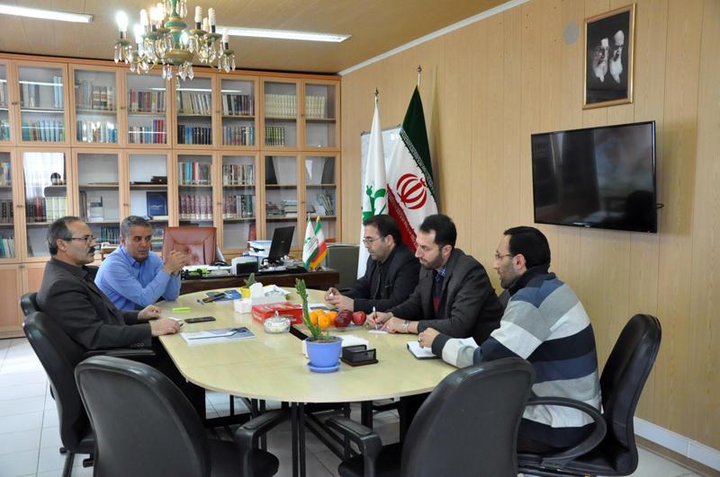 موضوع جلسه مشترک مدیران کل و کارشناسان کانون و هواشناسی استان اردبیل