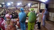 استقبال از اجرای نمایش «پاهای خانم هزارپا» در چالوس