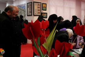 افتتاحیه نمایشگاه دستآفرینه کانون استان قم