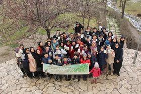 ویژه برنامه روز درختکاری کانون تهران در پارک پلیس