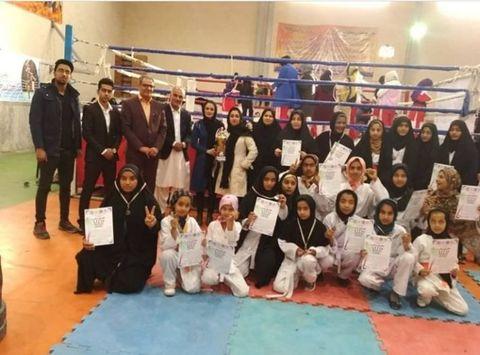 افتخارآفرینی دو عضو مرکز فرهنگیهنری دَلگان(سیستان و بلوچستان) در مسابقات رزمی